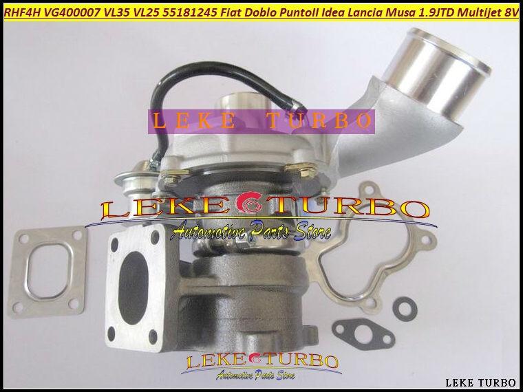 Turbo RHF4H VL25 VF400007 VL35 71783881 55223446 Turbocharger For FIAT Doblo Punto 2 Idea Lancia Musa 1.9L JTD 03-07 Multijet 8V fiat sedici 1 9 multijet