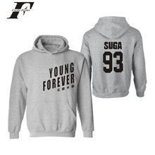BTS Hooded Hoodies hombres carta impresión KTP Bangtan sudadera hombres  coreano Popular Hip Hop ropa( db149befbfc
