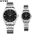 EYKI Dress Simple Design Lovers Watch 10M Waterproof Business Casual Relojes Hombre 2016 New Arrival Couples Quartz Watches 8852