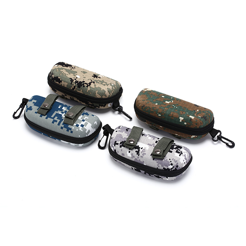 EVA Portable Sunglasses Box Camouflage Tactical Goggle Box Glasses Bag Case EDC Accessory Bag Outdoor Team Training Bags