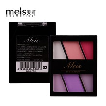 MEIS Brand eye shadow Professional Makeup 6 Colors matte Eyeshadow Palette Matte Eye Shadow MS0603