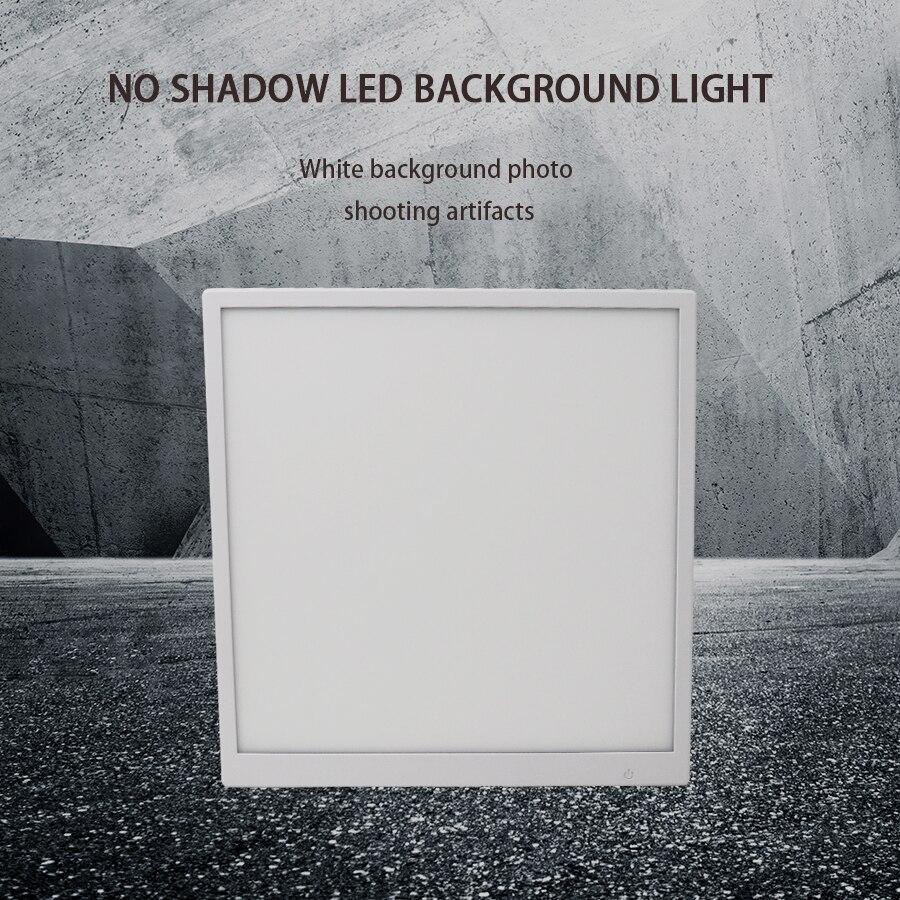 Mezher 40 LED photographie sans ombre rétro-éclairage sans ombre lampe panneau tapis Applicable à 40 cm Photo Studio boîte led salle de lumière