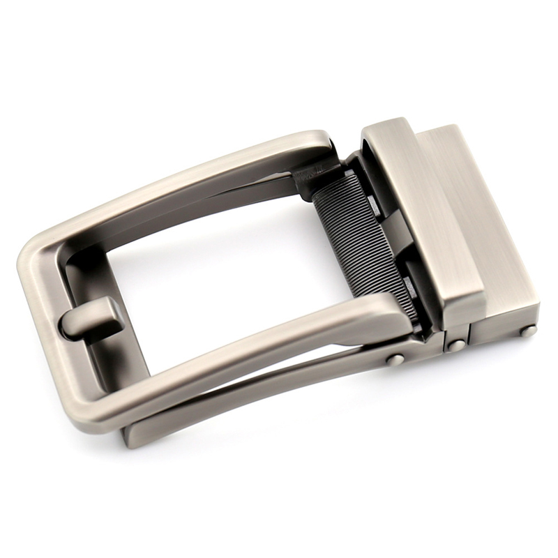 3.5cm Width Genuine Men's Belt Head Belt Buckle Leisure Belt Head Business Accessories Automatic Buckle Luxury Fashion CE32315