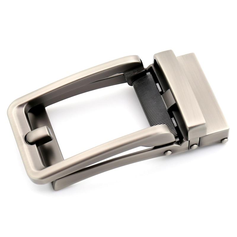 3.5cm Width Genuine Men's Belt Head Belt Buckle Leisure Belt Head Business Accessories Automatic Buckle Luxury Fashion CE32315