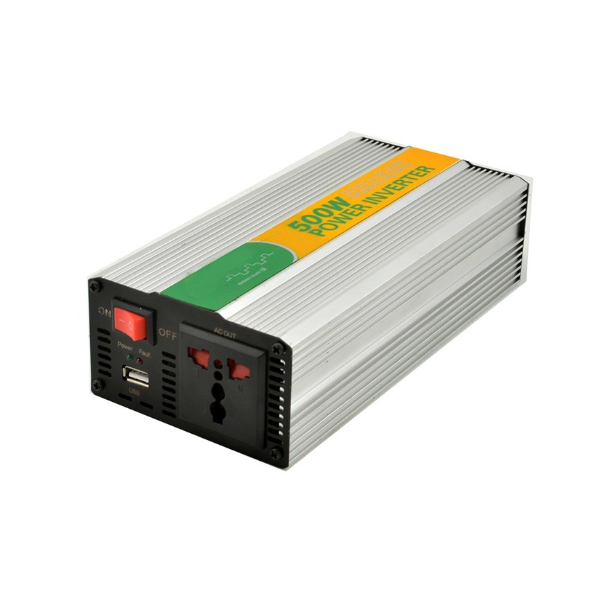 MKM500-242G modified sine 24VDC to 220VAC 500 watt electricity power inverter for home power inverter with CE RoHS