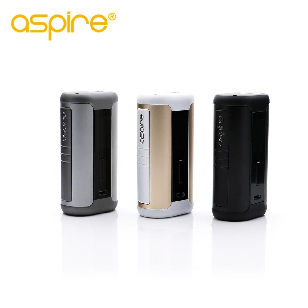 Original aspire 200 W speeder mod cigarrillo electrónico TC caja Firmware actualizable para aspire Athos tanque