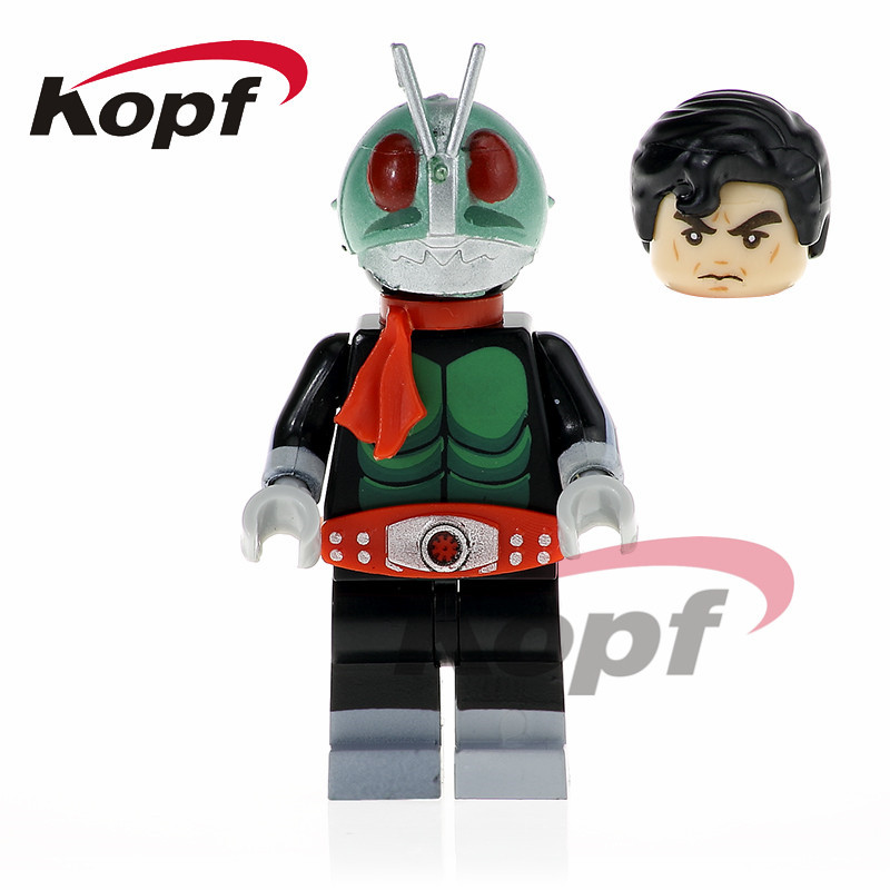 Kamen Rider Masked Rider 1 Single Sale Shocker Soldier Bricks Action Building Blocks Education Toys for children PG1171