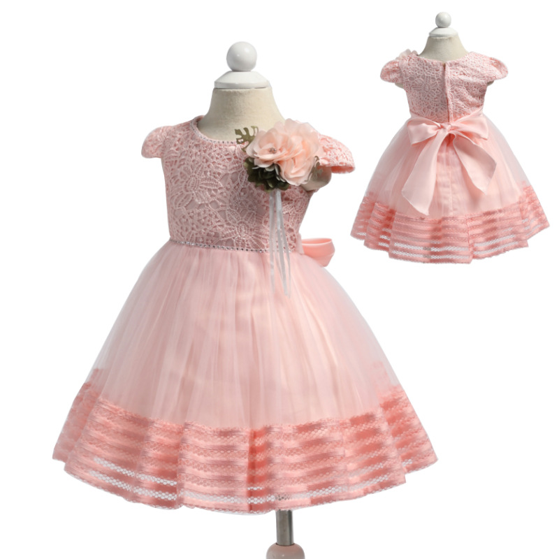 Baby Girl Dress Baptism Dresses for Girls 1st Year Birthday Party Wedding Christening Ba ...
