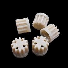 5x пластмассовая шестерня, запасные части для мясорубки Axion, бытовая мясорубка, пластиковая шестерня