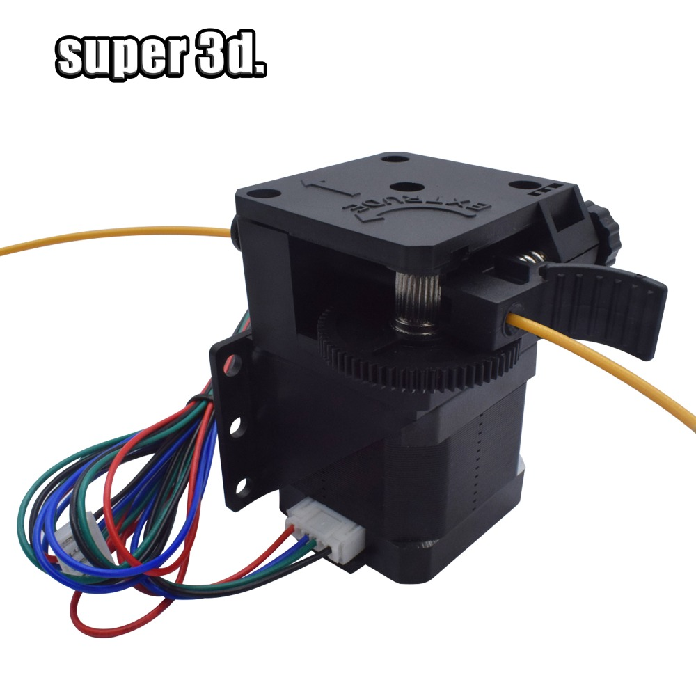 DIY Kit titan Extruder for desktop FDM 3D printer reprap E3D V6 J-head bowden 1 75mm Filament Feeder Bracket 3D Printer Parts