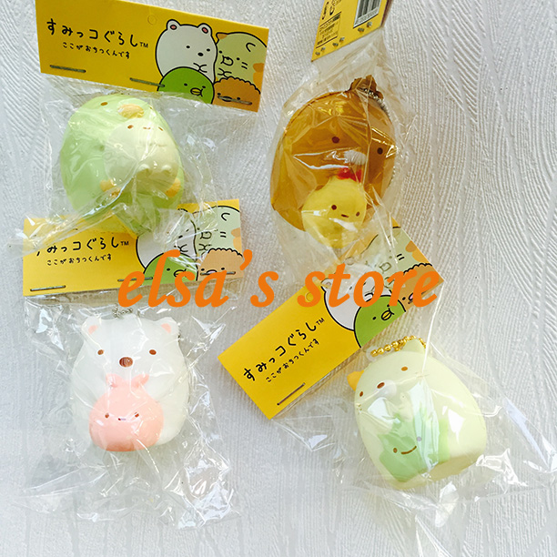 Squishy Tag List : squishies wholesale 10pcs squishy lot kawaii rare Corner living creature squishy with tags charm ...