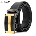 APOLP 2017 New Fashion Brand Designer Men Belt Luxury High Quality Belts For Men Letter H Jeans Pants Mens Black Leather Belts