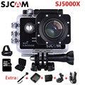 Câmera Ação 1080 p Wi-fi SJCAM SJ5000X Elite 4 K 2 K 30fps Giroscópio esportes de Mergulho 30 m À Prova D' Água Ação Esporte Capacete Câmera DV LCD 4 K