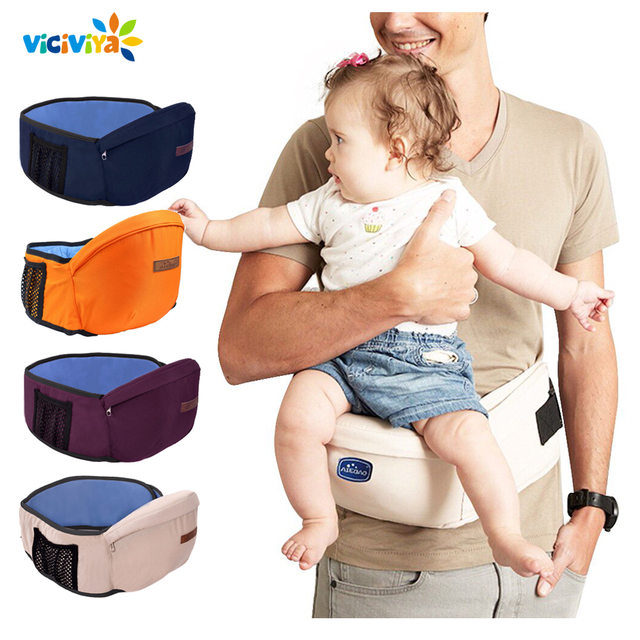 2019 Baby Carrier Waist Stool Walkers Baby Sling Hold Waist Belt Backpack Hipseat Belt Kids Infant Hip Seat