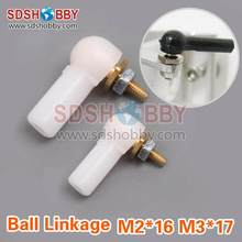 Adjusted Ball Joint M2 16 M3 17 for RC Model Boat