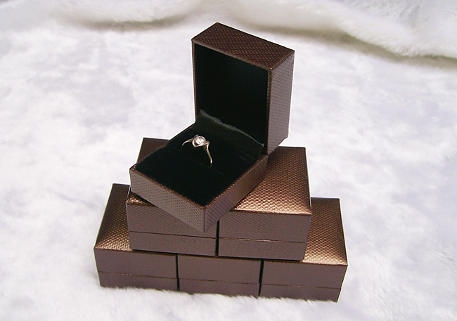 Wholesale Quality 6 pcs/lot Jewelry Gift Box Ring box