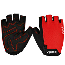 Boodun Hot Sell Brand Man and Women Half Finger Bike Gloves Sports Wear Non Slip Gym Fitness Cycling