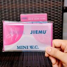 4 шт./лот, розовый одноразовый 700CC портативный мешок для хранения мочи, сумки для путешествий, экстренный туалет для унисекс