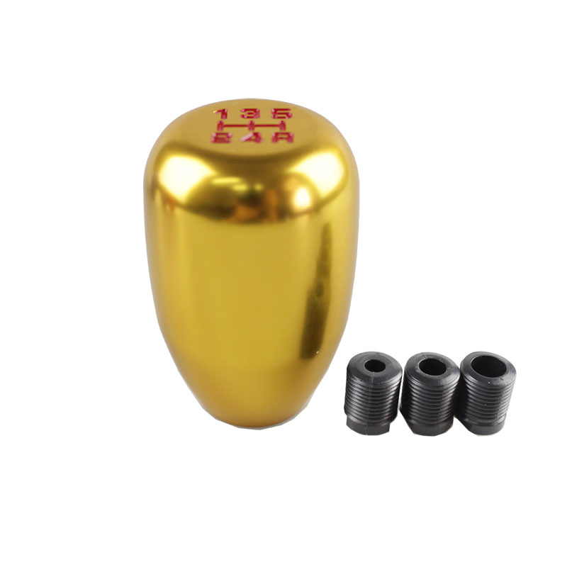 RASTP New Arrival 5 Speed Car Styling Gear Shift Knob Manual Automatic Transmission Gear Shift Knob Shift Lever RS SFN010 in Gear Shift Knob from Automobiles Motorcycles