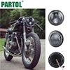Partol 7 Motorcycle Projector LED Headlight With Halo Ring Hi Lo Beam 36W 6000K H4 12V