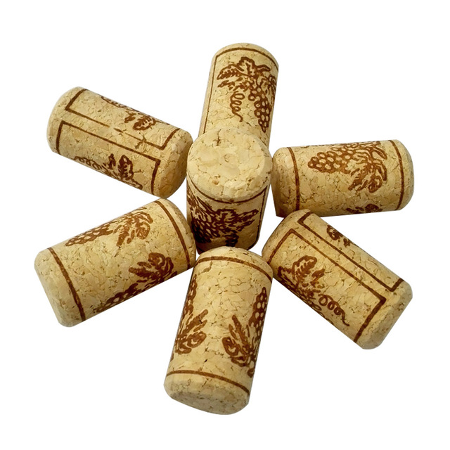 Classic Wooden Wine Bottle Stoppers Set
