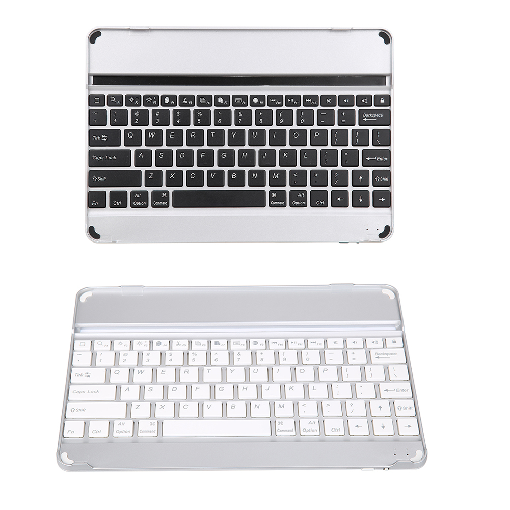NI5L Aluminum Wireless Bluetooth 3.0 keyboard case For iPad Air 2 AIR 5 6 iPad PRO 9.7 With Versatile Stand