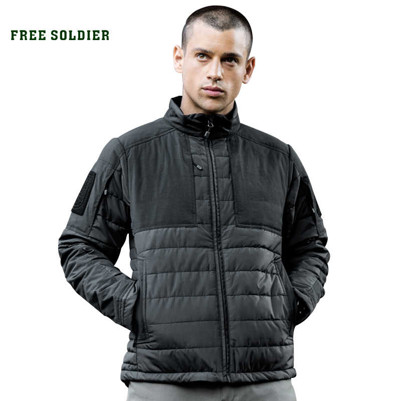 FREE SOLDIER Outdoor sports camping hiking  tactical jacket, heat retaining anti-spot  wear-resistant jacket / coat