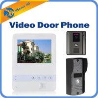 4.3inch TFT LCD Screen Color Video Door Phone Doorbell Intercom System 700TVL Night Vision Waterproof Camera Doorphone