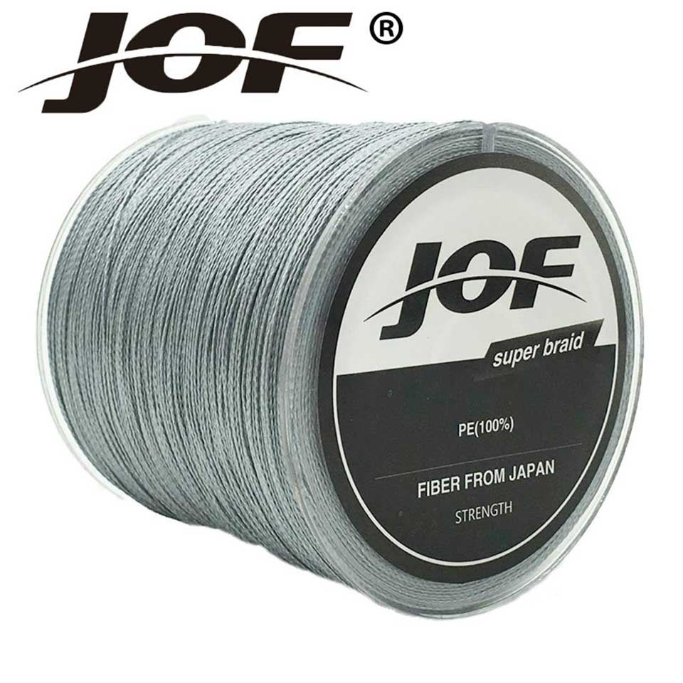 JOF Brands <font><b>4</b></font> Strands <font><b>1000</b></font> Meters Multifilament <font><b>PE</b></font> Braided Wire Braided Fishing Line Super Strong Fishing Lines 10LB-100LB image