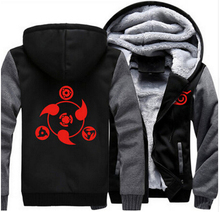 Naruto Anime Thicken Hoodie Coat Sweatshirts