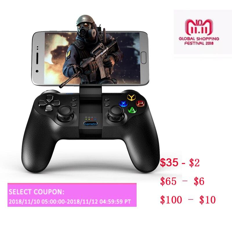 GameSir T1s inalámbrico Bluetooth juego Gamepad Controller para Android/Windows PC/VR/TV Box/PS3 (nave de CN... nos ES)