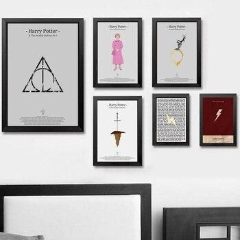 Harry Potter Wall Art Wall Decor Silk Prints Art Poster Paintings For Living Room No Frame Туалет