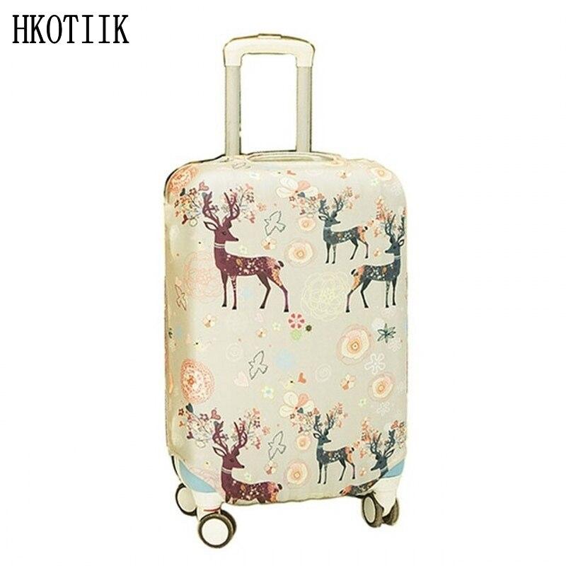 Mænd og kvinder kuffert støvbetræk bagagebetræk passer til 18 til - Rejsetilbehør - Foto 1