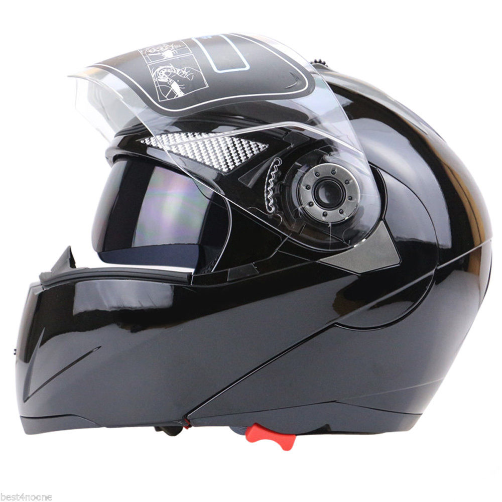 Free shipping 1pcs Unisex Full Face Motorcycle Helmet Dual Visor Street Bike + Transparent Shield hp hp 920