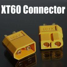 200PCS=100pair Male /female XT60 rc lipo battery connector bullet Connectors Gold-plated plug