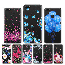 For Huawei on Honor 7A / Honor 7A Pro Case Silicone Clear Cover For Huawei Y6 Prime 2018 / Enjoy 8e Phone Cases Cute Bumper все цены