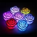 Iluminando brinquedos LED Romantic Rose Flor Cor mudou Luz Da Lâmpada LED Novidade Lâmpada Night Light