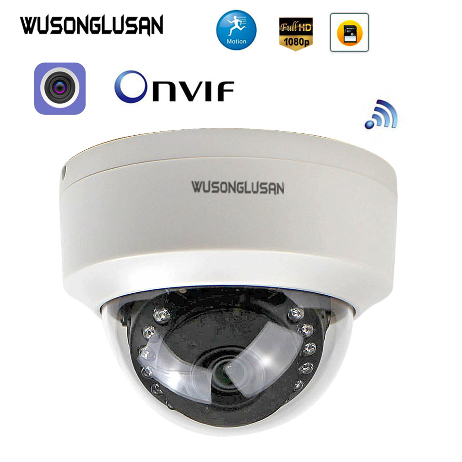 New Sony323 1080P IP Camera Wifi Dome 960P 720P Wireless Security Onvif Motion Detect SD Card P2P For CCTV Surveillance Camera