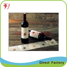 Customized environmental food bottle label stickers strong adhesive food label stickers
