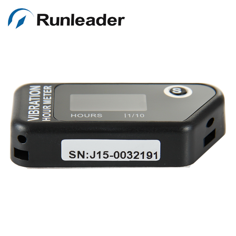 (5pcs) Runleader Resettable Vibration Hour Meter for Snowmobile Outboard Motor ATV snowmobile lawn mower jet ski pit bike boat
