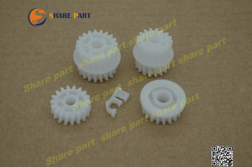 10 Sets X Gear Kit For HP P3015 RU5-0956-000 RU5-0959-000 RU5-0958-000 RU6-0965 RC2-0657-000CN Factory Outlet