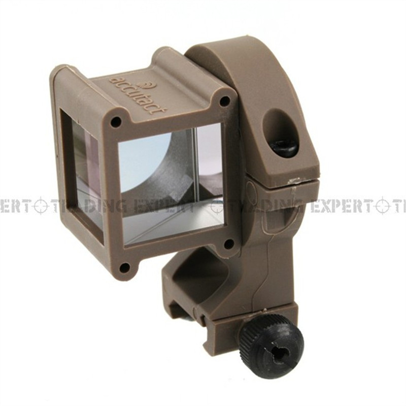 Red Dot Rifle Scope Tactical Angle Sight 360 Rotate For Red Dot / Holographic Sight Tan 01886