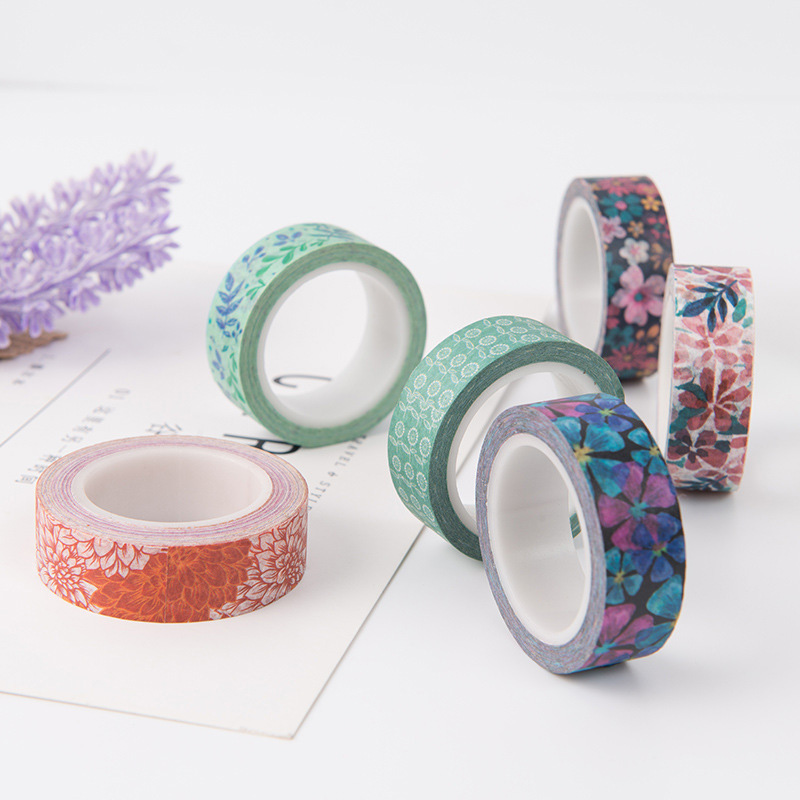 Cute Cherry Blossom Washi Tape Stickers Scrapbooking Sakura Decorative Adhesive Tape For School Office Supplies For Kids Gift