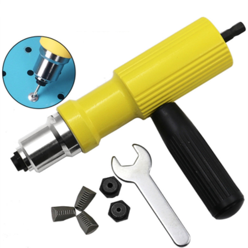 New Electric Rivet Gun Rivet Machine Rivet Gun Rivet Adapter Head Accessories Core