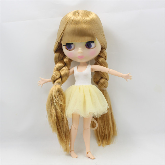 Factory Neo Blythe Doll Golden Hair Jointed Body 28cm