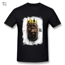 a321b0b4 Pure Cotton Man BIG The Notorious T Shirt Christopher Wallace Biggie Smalls  hio hop Rapper Man