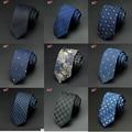 Mens Ties 2016 New Brand Man Fashion Dot Striped Neckties Hombre 6 cm Gravata Slim Tie Classic Business Casual Green Tie For Men