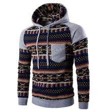 New Men's Winter Slim Hoodie Warm Hooded Sweatshirt Coat Jacket Outwear