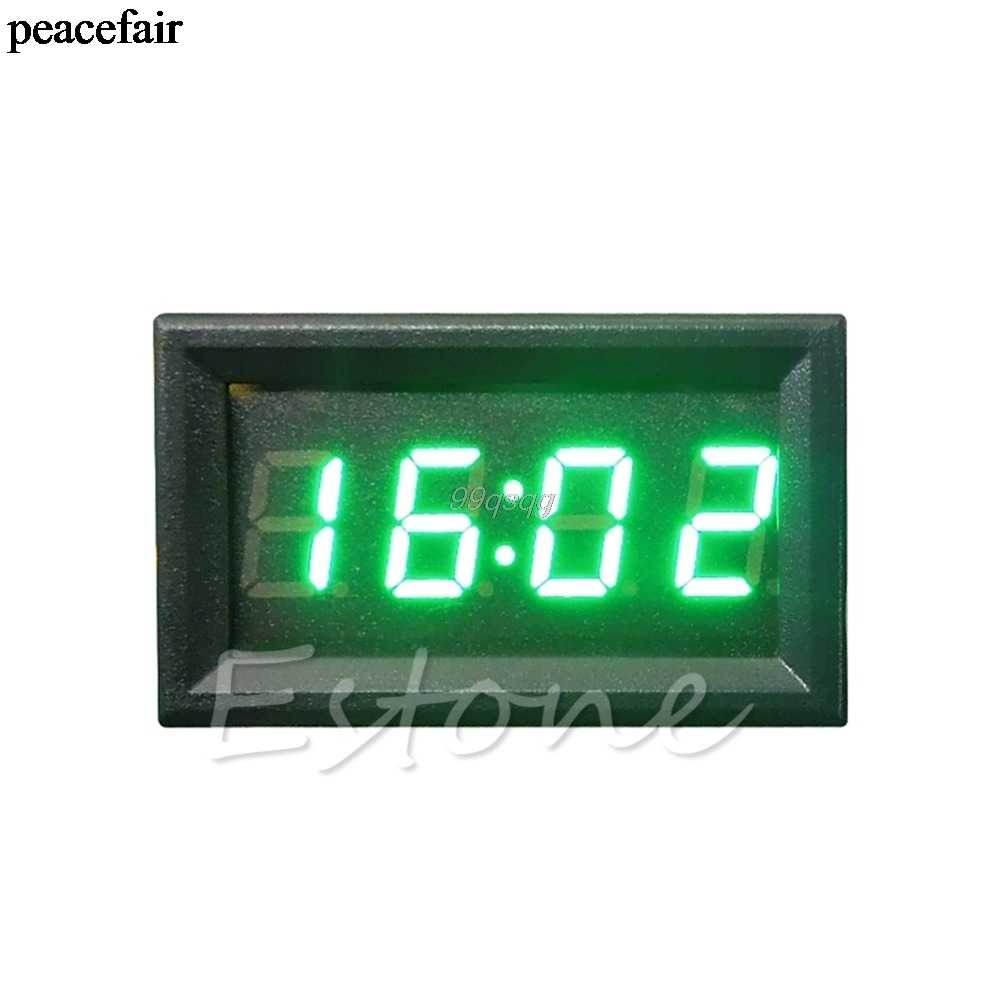 Digital Clock For Sale Hot Sale Led Display Digital Clock 12v 24v Dashboard Car Motorcycle Accessory 1pc Drop Shipping