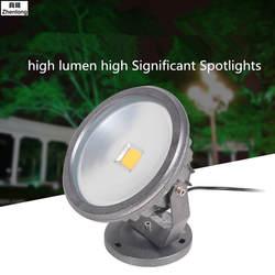 Бесплатная доставка 30 Вт Светодиодный прожектор черный корпус светодиодный Открытый Поиск лампы светодиодный светильник светодиодный